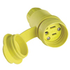 Cooper Industries Watertight Straight Blade Plug & Connectors ORS309-15W47
