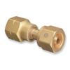 Western Enterprises Brass Cylinder Adaptors WSE 312-16