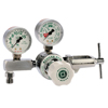 Gas Cutting and Welding: Western Enterprises - M1 Series Flow Gauge Regulators, Oxygen, 2-15 Lpm, Cga-870 Yoke, 3,000 PSI Inlet