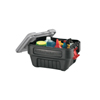 rubbermaid storage: Rubbermaid Commercial - Actionpacker Storage Containers, 8 Gal, 11.8 In X 14 1/2 In X 19.9 In, Black