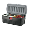 Rubbermaid Commercial Actionpacker Storage Containers, 48 Gal, 17.156 X 20 1/2 X 43 3/4, Black RCP 640-1949210