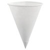 Rubbermaid Disposable Paper Cone Cups, 4 oz, White, 1,200 Per Case RUB 325-1634-06-BLWHT