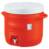 water dispensers: Rubbermaid - Plastic Water Coolers, 7 Gal, Orange