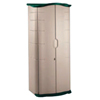 "Metal Sheds 4 Foot: Rubbermaid - 18 Cubic Feet Storage Shed 6' Height X 2'6""Width X 2'1""Depth"