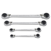 GearWrench 4 Pc. QuadBox™ Double Box Ratcheting Wrench Sets GWR 329-85215
