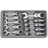 GearWrench 10 Piece Stubby Flex Combination Ratcheting Wrench Sets GWR 329-9550