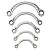 GearWrench 5 Piece Half Moon Reversible Double Box Ratcheting Wrench Sets GWR 329-9850