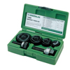 Electrical Tools: Greenlee - Manual Round Standard Knockout Punch Kits