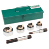 Electrical Tools: Greenlee - 5 Pc. Slug-Spitter® Knockout Punch Kit