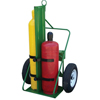 Saf-T-Cart 500 Series Carts, Holds 2 Cylinders, 9.5-12.5 Dia., 1,800 Lb. Load Cap. STC 339-554-30FW