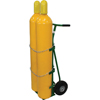 Saf-T-Cart 750 Series Carts, Holds 2 Cylinders, 9 1/2 In Dia., 2-Wheel STC 339-750-20