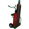 Saf-T-Cart 900 Series Carts, Holds 8.5-9.5 Dia. Cylinders, 10 X 2.75 Semi-Pneum. Wheels STC 339-950-10