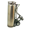 Saf-T-Cart Industrial Series Carts, Holds 1 Cylinder, 12 In Pneumatic Wheels, 63 H STC 339-LCT-12-6