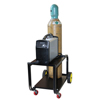 Saf-T-Cart Running Gear Series Carts, Holds 1 Cylinder, 6 In Semi-Pneumatic Wheels STC 339-MC-61