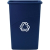 Rubbermaid Commercial Slim Jim® Recycling Container RCP 3540-74 BLU