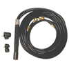 WeldCraft Water Cooled Flexible Tig Torch Packages WLC 366-WP-225-25-R
