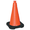 Clean and Green: TrafFix Devices - VizCon Enviro Cones, 18 In, 3 Lb, No Reflective Collar, LDPE, Orange