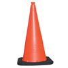Clean and Green: TrafFix Devices - VizCon Enviro Cones, 28 In, 7 Lb, No Reflective Collar, LDPE, Orange
