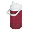 breakroom appliances: Igloo - Red Legend Coolers, 1 Qt, Diablo Red; White