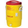 Igloo Heat Stress Solution Water Coolers, 5 Gallon, Red And Yellow IGL385-48153