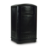 Rubbermaid Commercial Plaza™ Indoor/Outdoor Waste Container RCP 3964 BLA