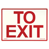 Jessup Glow In The Dark Exit Signs 397-EG-7520-F-107-RP