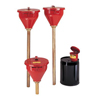 Justrite Safety Drum Funnels JUS 400-08202