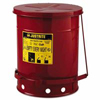 Justrite Red Oily Waste Cans JUS 400-09300