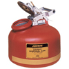 Justrite Red Liquid Disposal Cans JUS 400-14765