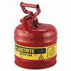 Justrite Type l Safety Cans for Flammables JUS 400-7120100