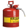 Justrite Type II AccuFlow™ Safety Cans JUS 400-7250120