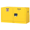 Justrite Yellow Piggyback Safety Cabinets JUS 400-891700