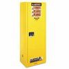 Justrite Yellow Slimline Safety Cabinets JUS 400-892200