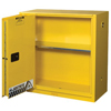 Justrite Yellow Safety Cabinets for Flammables JUS 400-893080