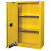 Justrite Yellow Safety Cabinets for Flammables JUS 400-894580