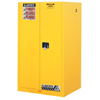 Justrite Yellow Safety Cabinets for Flammables JUS 400-896000