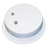 Kidde Battery Operated Smoke Alarms, Smoke, Ionization, 4 In Diam KID 408-0914E