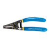 Klein Tools Kurve Wire Strippers/Cutters, 20-30 Awg Solid; 22-32 Awg Stranded, Blue/Red KLT 409-11057