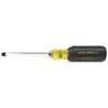 Klein Tools Keystone-Tip Cushion-Grip Screwdrivers, 1/4 In, 8 11/32 In Overall L KLT 409-600-4