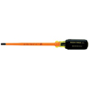 Klein Tools: Klein Tools - Slotted Insulated Cushion-Grip Cabinet Tip Screwdrivers