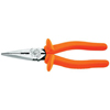 Klein Tools Insulated Heavy-Duty Long-Nose Pliers KLT 409-D203-8N-INS