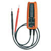 Electrical Tools: Klein Tools - Electronic Voltage/Continuity Testers, 600 Vac/600 Vdc, Battery