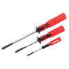 Klein Tools 3 Piece Slotted Screw-Holding Screwdriver Sets KLT 409-SK234