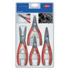 Knipex SB Precision Circlip Snap Ring Pliers Sets, Straight Tips, 4 Piece KNX 414-00-2003SB