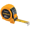 Komelon USA Gripper&Trade; Series Power Tapes, 1 In X 25 Ft, Yellow ORS 416-5925