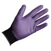 safety zone leather gloves: Jackson - G40 Nitrile Foam Coated Gloves, Cuff, Nylon Lined, Size 7, Purple/Black