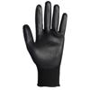 Kimberly Clark Professional KleenGuard® G40 Polyurethane Coated Gloves, Size 8, Black KIM 138-13838