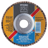 Pferd Polifan Psf-Extra Flap Discs, 4 1/2 In, 40 Grit, 7/8 In Arbor, 13,300 RPM PFR 419-60458