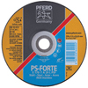 Pferd Type 27 General Purpose PSF-INOX Depressed Center Wheels PFR 419-61006