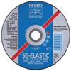 Pferd Premium Sg-Inox Wheel, 7 In Dia, 1/4 In Thick, 5/8 Arbor, 30 Grit, Alum Oxide PFR 419-61110